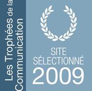 Site slectionn pour les trophes de la communication 2009