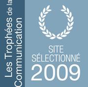 Site sélectionné pour les trophées de la communication 2009