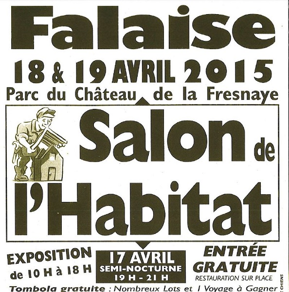 Salon de l 39 habitat mairie de falaise for Salon de l habitat dunkerque