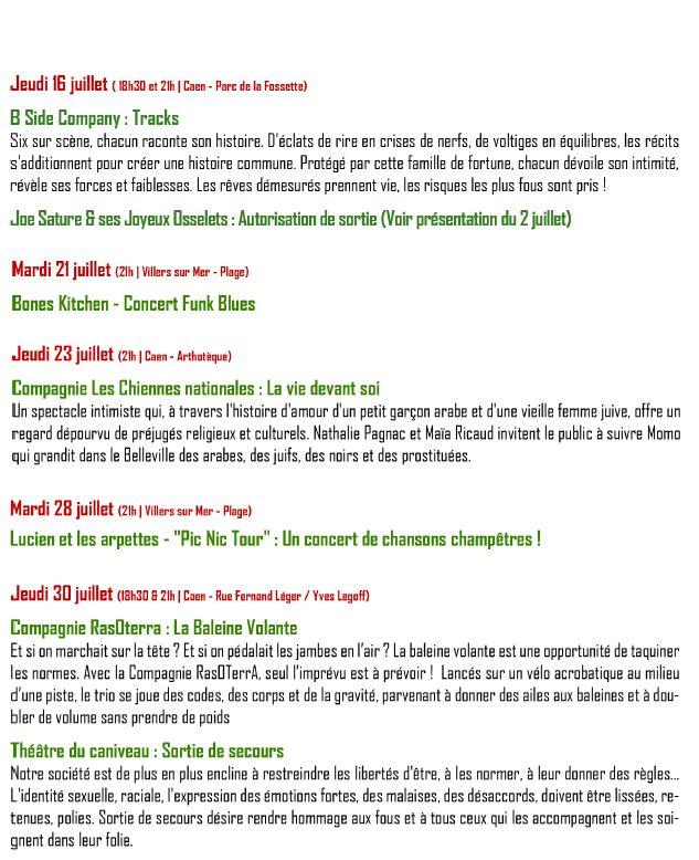 programme EBVA!web B