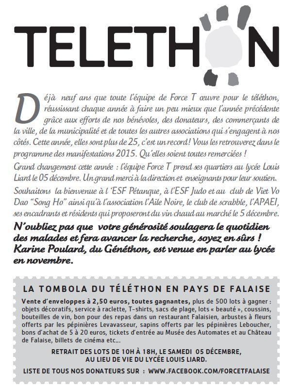 Téléthon D